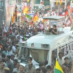 AIADMK leader Jayalalithaa campaigns in Mylapore