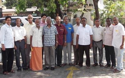 1967 batchmates of PS Sec.School Mylapore
