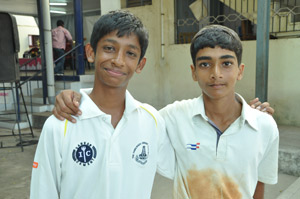 P. S. Senior cricket team