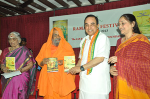 Lectures, recitals at conference on 'Ramayana'