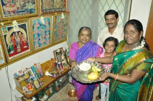 pradeepkumar family at luz church rd-ugadhi celebrates