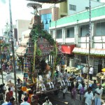 Sri Velleeswarar Temple 'ther' procession