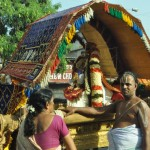 Swami with stunning 'jadai' goes in procession