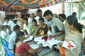 Chennai corp  camp at chennai corp building mandaveli st, subham kalyanam  mandapam opp. on 25-6-13