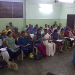 Choral singing training by Madras Youth Choir