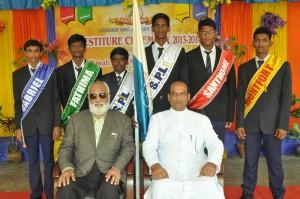Investiture ceremony 2013-2014,at santhome hr sec school. on 29-6-13