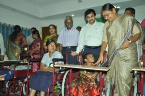 VALARMATHI-MINISTER at andhra mahila sabha r a puram  on 8-7-13