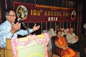 P.S.HR. SEC. SCHOOL,MYLAPORE  109th ANNUAL DAY -2013       ON  30-8-13