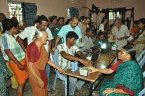 AADHAR CARD (147) - AT CHENNAI CORP WARD OFFICE,CHITRAKULAM-ON 20-9-13