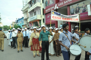 CASA CAMPAIGN BY INDIANBANK AT MADA VEEDHIS, MYLAPORE-ON 20-9-13