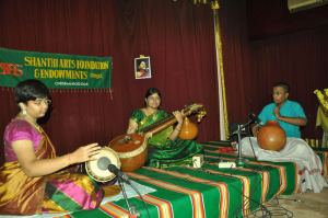 VEENA BY S.ANJANI at raga sudha hall.  ON 27-9-13