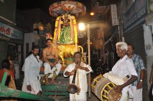 SELVA VINAYAGAR ,nandhivagnam procession at v.p.koil street  on 9-9-13