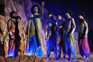 chakravyuha-english play  at chetinad vidyashram school on 20-11-13