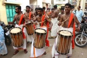 Sri Hariharaputhraswami Procession at Thachi Arunachalam Street  on 5-1-2014