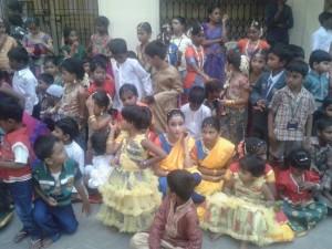 Mahila Vidyalaya Nursery school Annul Day Celebration