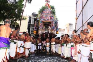 Sri Adi Kesava Perumal Temple - ther processon