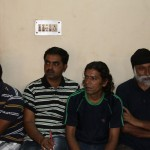 Seamen of detained ship keep bail date at police station