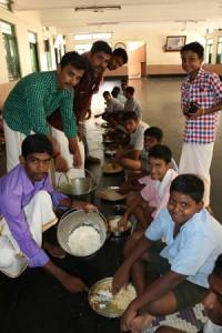 Actor Ajith Birthday Celebration at Ramakrishna mission students home