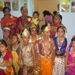 Children dress up for Krishna Jayanthi