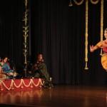 Dancing to Suguna Purushothaman's compositions . . .