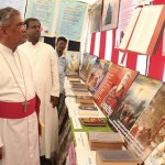 Bible exhibition at San Thome cathedral