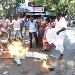 Court verdict against Jayalalithaa: Neighbourhood looks ghostly