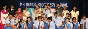 CHETTINAD VIDYASHRAM - WINNERS AT P.S. SCHOOL CUL FEST