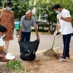Clean India campaign by B. M. Garden Street residents