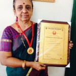 Music and dance teacher Nalini Ramani recognized