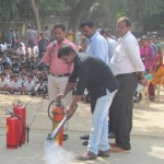 Mock fire drill - M. Ct. M School