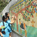 Wall Painting at Hari Shree Vidyalayam
