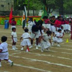 Aerobics and Gymastics: At M. Ct. M School's sports meet