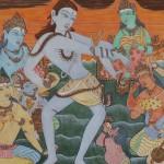 Artist Ramani displays a rare work of art