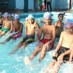 Two hotels offer swimming camps at their pools