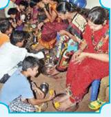 Bala Mandir maatru puja