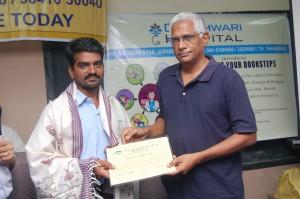 RAPRA honouring RAMKY worker
