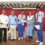 Chettinad Vidyashram win quiz competition, at CPR Centre