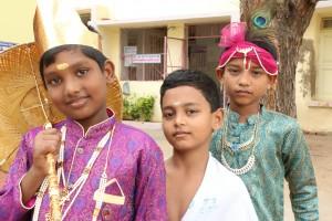 At Fatima School, Onam celebrations