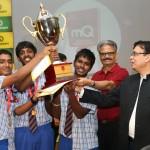 Murugappa Madras Quotient Quiz; Chettinad Vidyashram lifts trophy