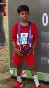 Sai Nathan - dream runners half marathon