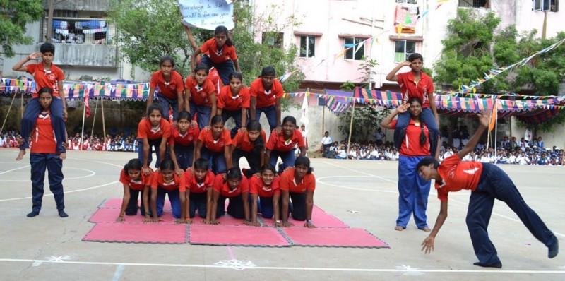 lady sivaswami sports day