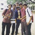 Vivekananda College lift trophy at Loyola College cul-fest