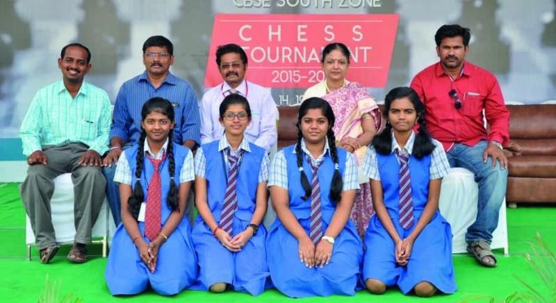 Chettinad Vidyashram Chess winners