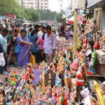 North Mada Street abuzz with Navaratri dolls stalls