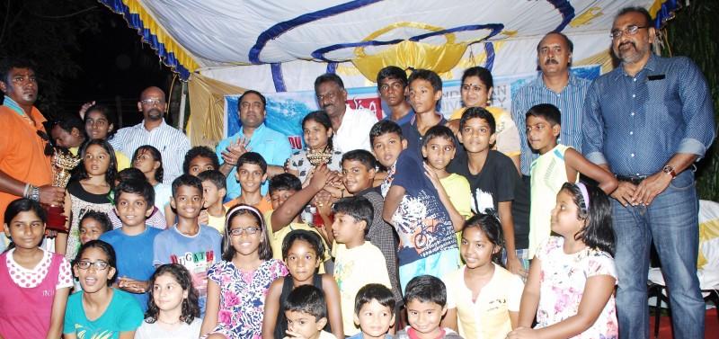 chettinad vidyashram swimming team