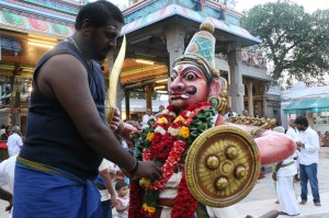 soora samharam at kapali temple
