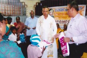 Vincent de paul society - Christmas donations