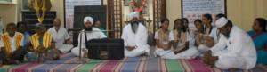 Prayer for peace - Srinivasa Gandhi Nilayam