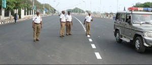 Republic Day - road closed