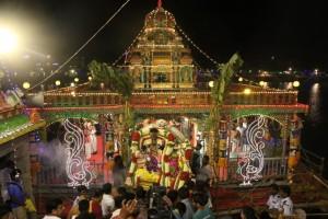 kapali temple teppam